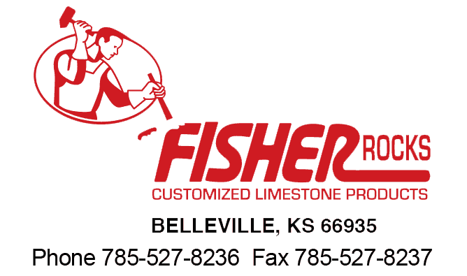 Fisher Rocks Customized Limestone Products Logo